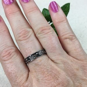 Kaki Jo's Closet Jewelry - Sterling Silver Band Ring